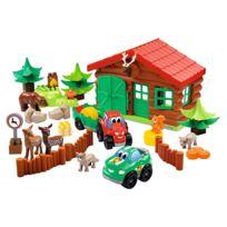Ecoiffier - Briques de construction Abrick : Maison forestière