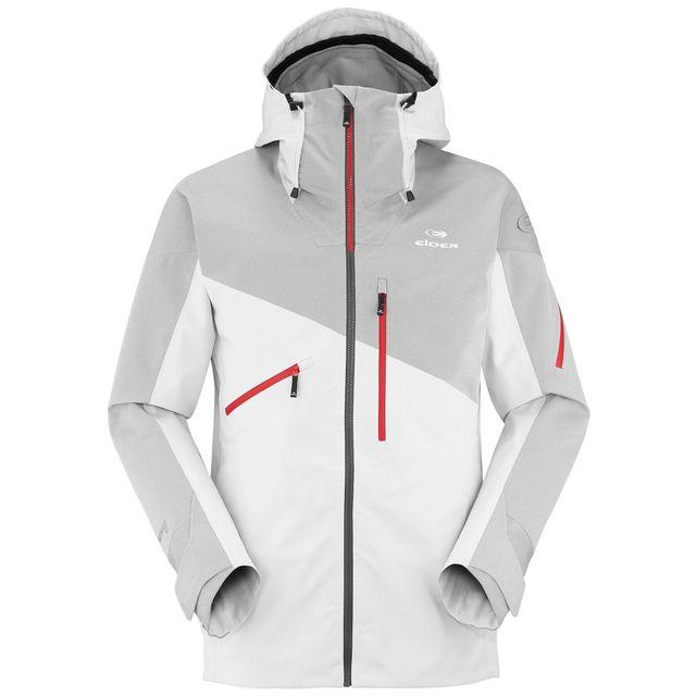 Snow Blanc Ski De Eider Veste Alaska Pas Shaper Homme White xngEnt78Ww