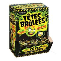 Verquin - Bonbons Tetes Brûlées Chocolat Citron Boite 300