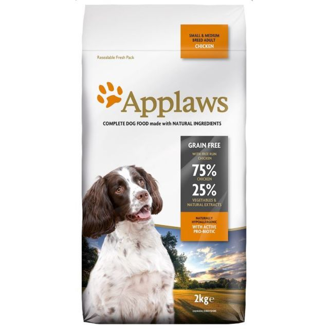 Applaws Chien Adult Small & Medium Breed Poulet