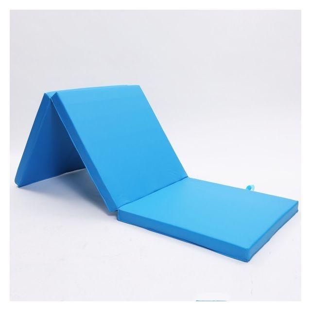 Ise Tapis De Gymnastique Pliable Tapis De Sol 180 X 60 X 5 Cm