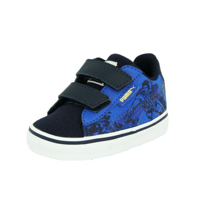 6b16837ac8a7d Puma - 1948 Vulc Superman Chaussures Mode Sneakers Bebe Bleu - pas cher  Achat   Vente Baskets enfant - RueDuCommerce