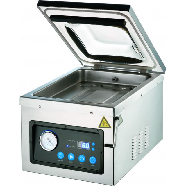 Materiel Chr Pro Machine Sous Vide avec Chambre Barre de Soudure 260 mm - Stalgast