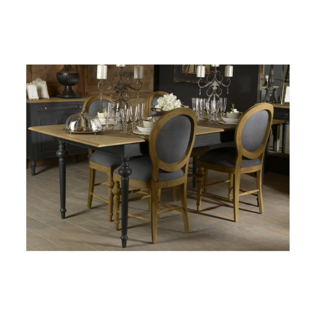 HELLIN Table rectangulaire extensible Neyla