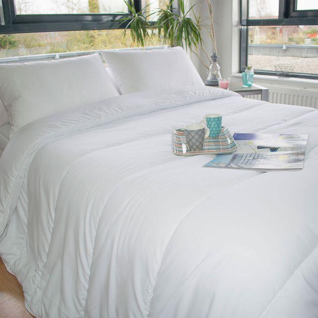bleu calin couette chaude hiver 220x240 pas cher achat vente couettes rueducommerce. Black Bedroom Furniture Sets. Home Design Ideas