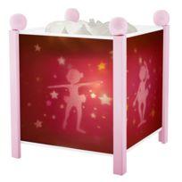 TROUSSELIER - Veilleuse bébé lanterne magique ballerines rose