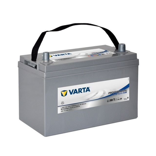 Varta - Batterie Decharge-lente Agm Lad115 - pas cher Achat