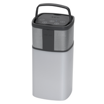 Aeg - Haut-parleur Bluetooth Bss 4841 19,5 x 9,5 69,5 cm Gris