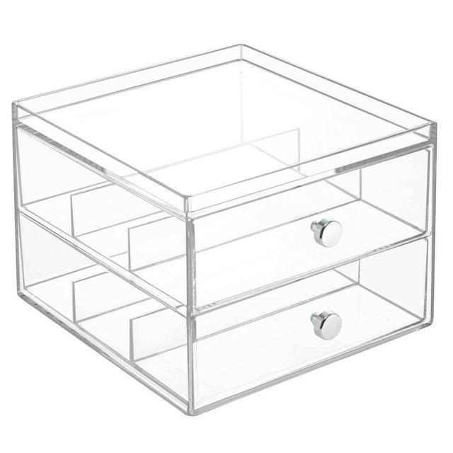 Interdesign Boîte de Rangement pour Lunettes Drawers