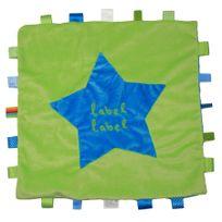 Label Label - Doudou stars Xl bleu/vert