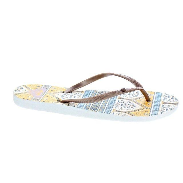 4714bbaf1da Roxy - Chaussures Femme Tongs modele Bermuda Ii - pas cher Achat ...