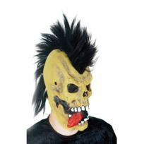 Masque Lumineux Squelette Punk Noir