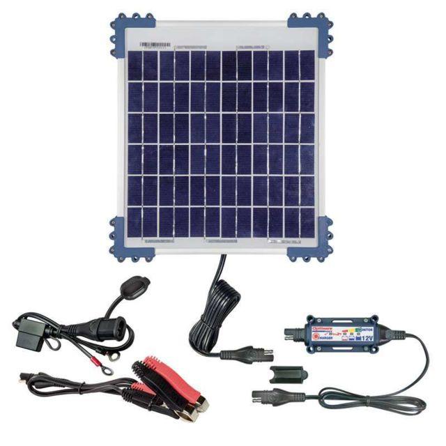 Tecmate Chargeur De Batterie Solaire Optimate Solar 12v 10w 2 240ah