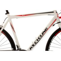 Vélo de course alu 28'' Euphoria blanc TC 58 cm
