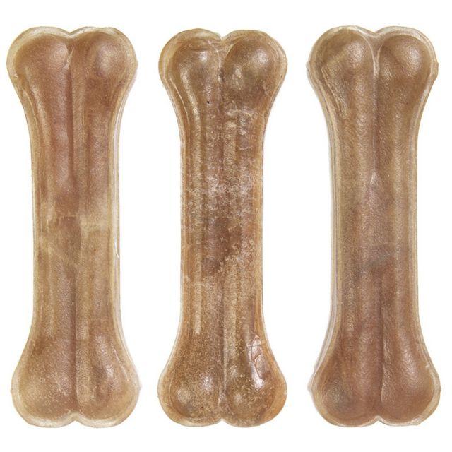 Armitage Armitages Pet Products - Os en cuir brut pour chiens Good Boy Lot de 10, M, Beige Utvp4612