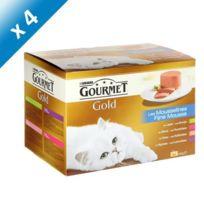 Gourmet - Gold Mousse 24x85g -x4