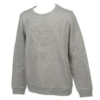 Guess - Sweat Sweatshirt gris chine jr Gris 10091