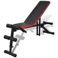 Autre - Banc de musculation multipositions Réglable sport fitness musculation 0702051