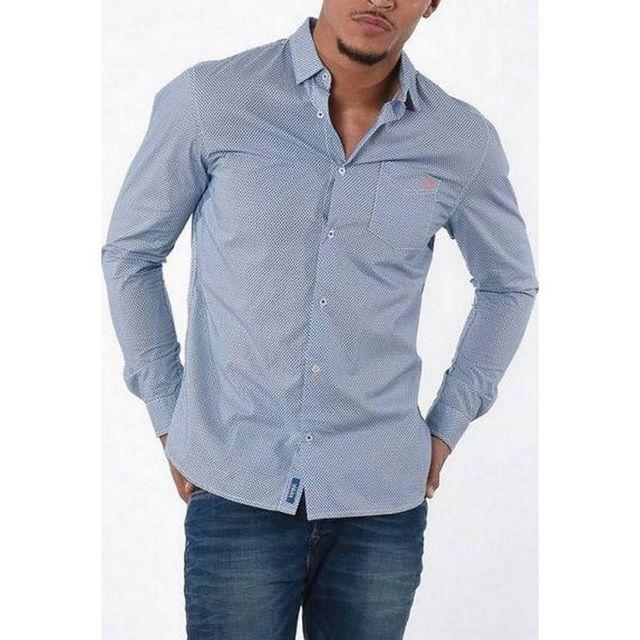Armani - Chemise Jeans - pas cher Achat   Vente Chemise homme ... 9adf086e37a8
