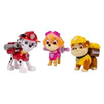 Paw Patrol - 6024060 - Figurine Animation - Pack De 3 - Sac A Dos Transformable 1