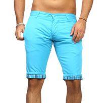 Rerock - Bermuda fashion turquoise Bermuda 302 bleu