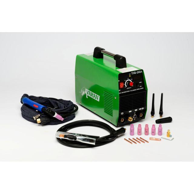 65fa056967d83e Varanmotors - Poste à souder Tig, portatif et Inverter + Arc 200 Ampères +  Accessoires