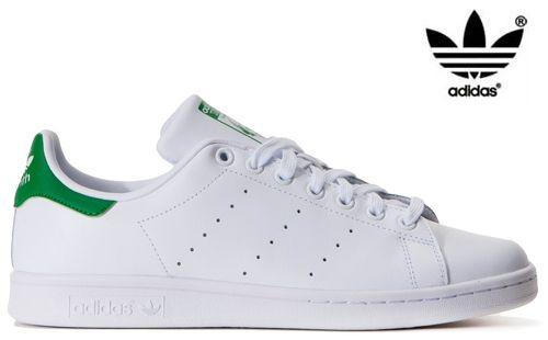 premium selection 6bd76 8c23e Adidas - Stan Smith blanc et vert b25387