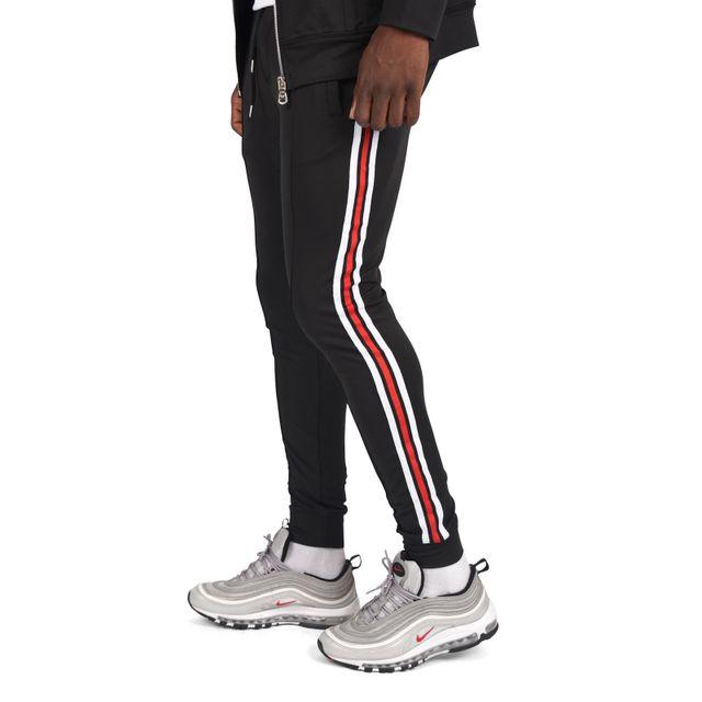 5551c060c0f41 Project X - Bas de jogging néoprène bandes latérales Homme Project X Paris
