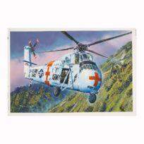 Trumpeter - Maquette hélicoptère Sikorsky Ch-34 Hélicoptère médicalisé Us Army 1970