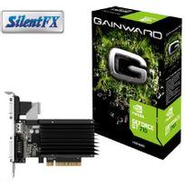GAINWARD - Carte graphique GeForce GT 710 - 1024MB-HDMI-DVI DDR3 Silent FX