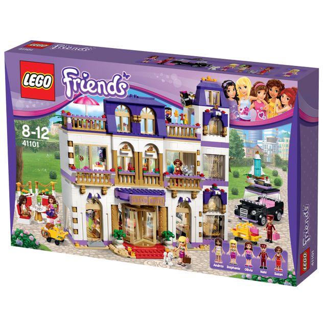 Lego Le Grand Hôtel De Heartlake City 41101 Pas Cher Achat