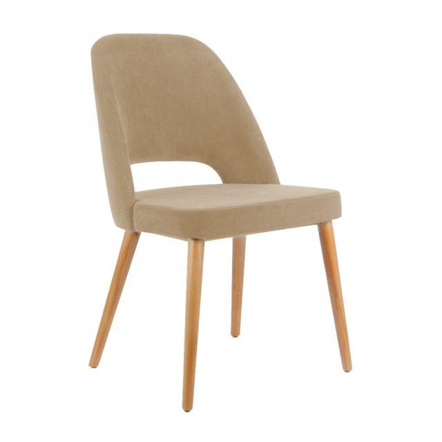 Homense - Chaise Perrex Beige
