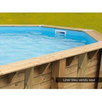UBBINK - Liner seul pour piscine bois Azura 2,00 x 3,50 x 0,71 m Bleu