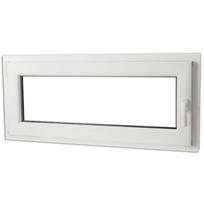Rocambolesk - Superbe Fenêtre oscillo-battant en Pvc Poignée sur la droite 900 x 400 mm Neuf