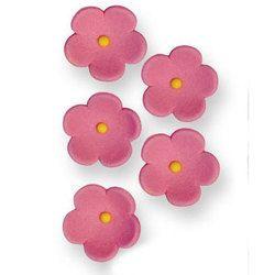 Pme Fleurs en sucre roses x30