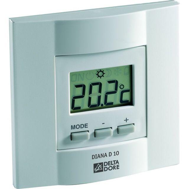 delta dore diana 10 chauffage thermostat pas cher. Black Bedroom Furniture Sets. Home Design Ideas