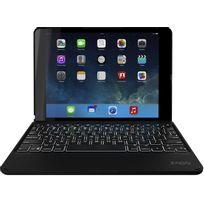 Zagg - Étui folio noir avec clavier rétroéclairé pour iPad Air 2