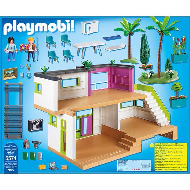 PLAYMOBIL - Maison moderne - 5574 - pas cher Achat / Vente Playmobil ...