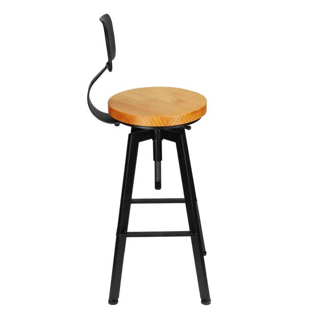 Chaises de bar pour petit déjeuner de la cuisine Vintage
