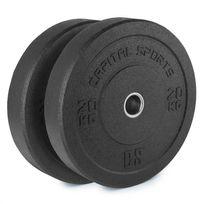 CAPITAL SPORTS - Renit Hi Temp Disques pour haltères 50,4 mm 2x 20kg