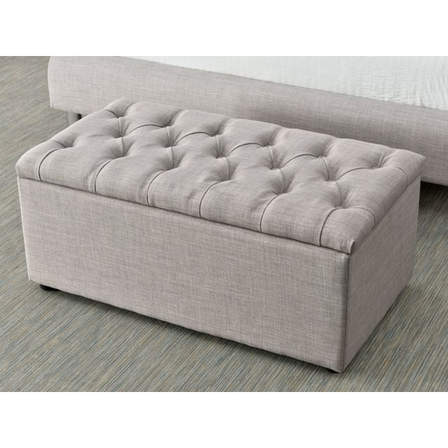 habitat et jardin coffre pied de lit nina 88 x 48 x 39. Black Bedroom Furniture Sets. Home Design Ideas