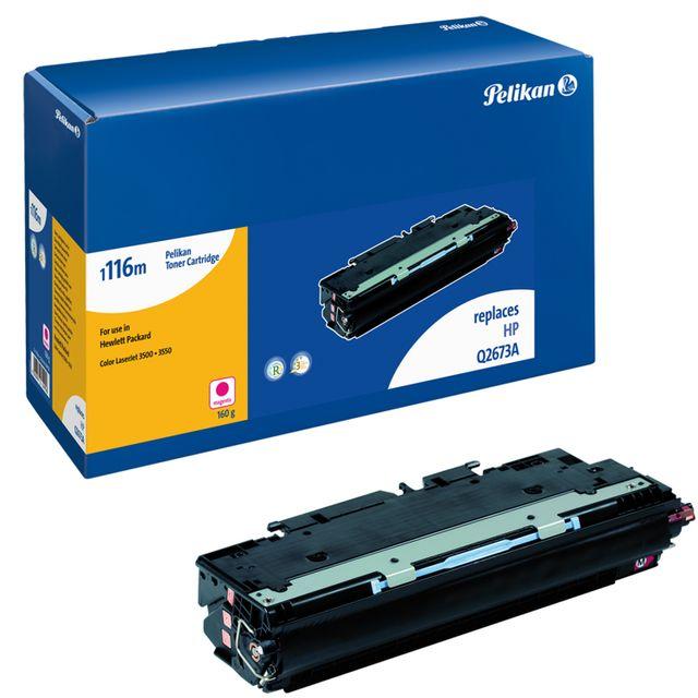 PELIKAN Toner pour HP 3500 Q2673A / 309A Magenta - 4000 pages