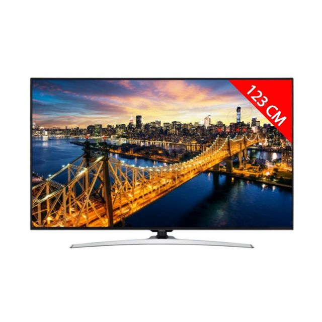 Hitachi Téléviseur Tv Led 4K 123 cm