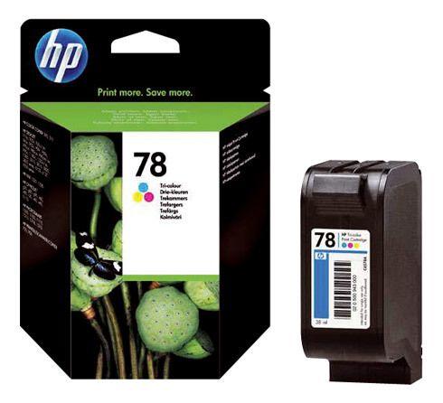 Hp Cartouche imprimante jet d'encre 3 couleurs 78 - C6578AE