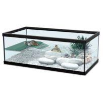 Zolux - Aquarium Pour Tortue D'EAU Tortum 55 Noir