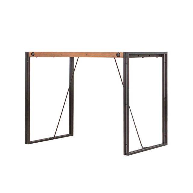 Meubletmoi Table haute de bar 93cm – Workshop