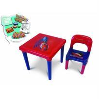 Darpeje - CARS - Table d'Activités Avec Set Créatif - CDIC016