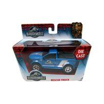Jada - Toys - 24038_03 - VÉHICULE Miniature - ModÈLE À L'ÉCHELLE - Dodge Rescue Truck - Jurassic World 2015 - Echelle 1/43.32