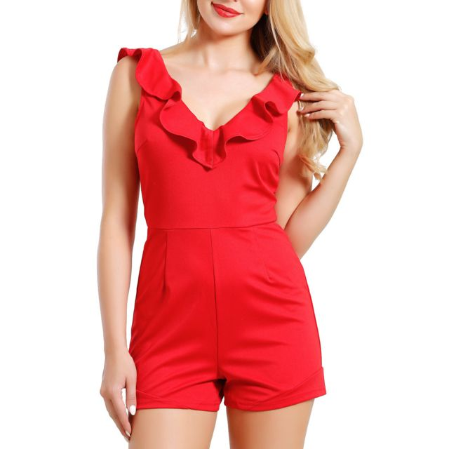 Infinie Passion Combishort rouge 00W038964 pas cher