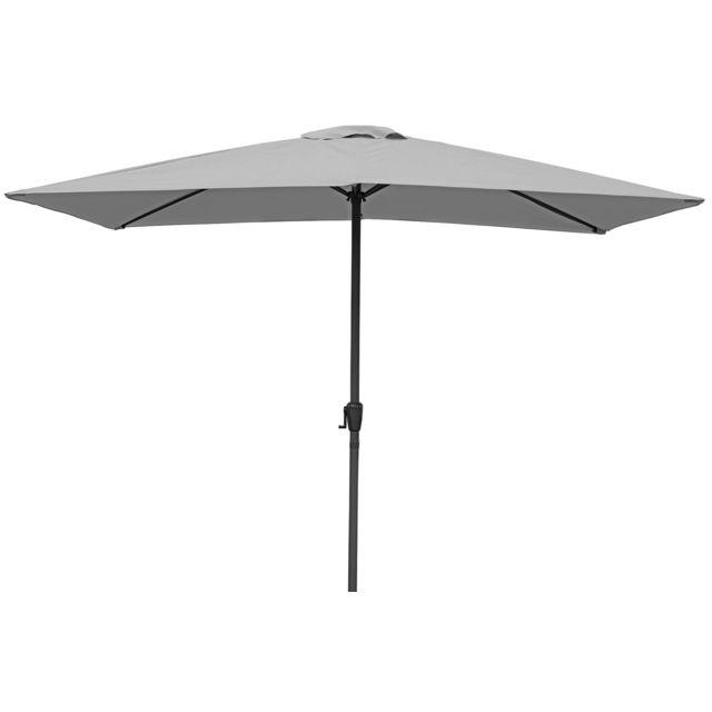 parasol rectangulaire aluminium